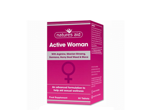 Natures Aid Active Woman Tablets 60's