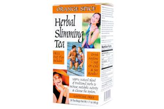 21st Century Herbal Slimming Tea Orange