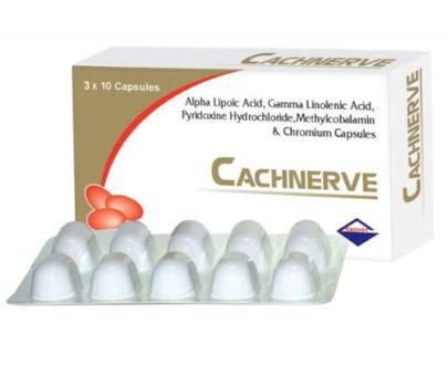 Cachnerve Capsules 30's