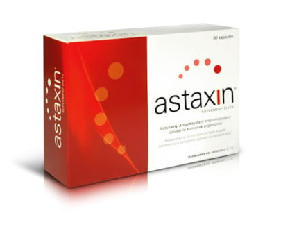 Astaxin Active soft capsules consist astaxanthin, combined with Vitamin C