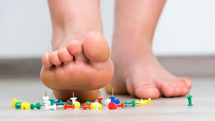 diabetes foot problems